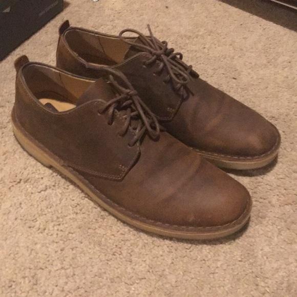 232a96d1 Clark's desert London shoe in beeswax